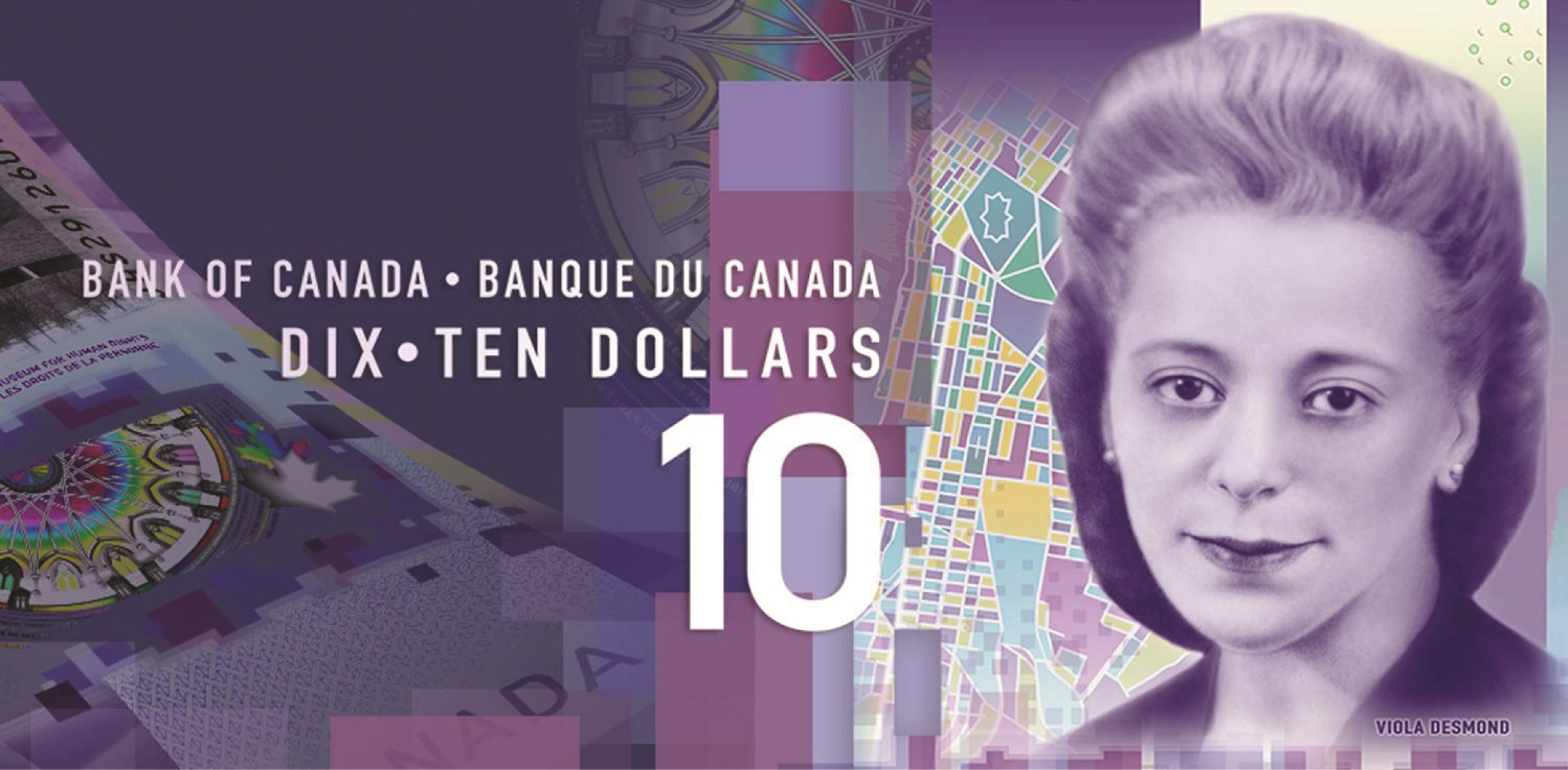 Canada's Verticle $10 Note.